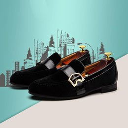 $enCountryForm.capitalKeyWord Australia - Boat loafers Free Shipping Slip-on Men's Shoe Casual Men Loafers Leather Men's Shoes Fashion Metal Fastener