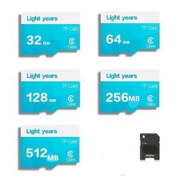 $enCountryForm.capitalKeyWord Australia - Wholesale 2018 8gb 128GB-512MB High Speed Light years MicroSD SD TF Card Class10 Flash Memory + SD Card Reader + Adapter Reader