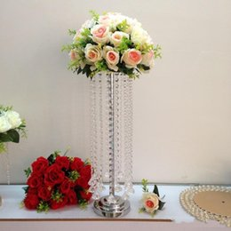 $enCountryForm.capitalKeyWord Australia - Elegant new product tall Crystal Chandelier table top wedding tale chandelier wedding centerpiece table centerpiece