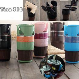 5 Farben Einstellbar 5 in 1 Auto Multi Cup Holder Cradles Mounts Multifunktions Auto Getränkehalter Becher Haken T2I5083