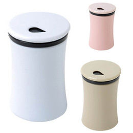Plastic Toothpick Wholesale Australia - Creative Solid Color Toothpick Holder Toothpick Box Plastic Simple Living Room Home Bar Table Accessories