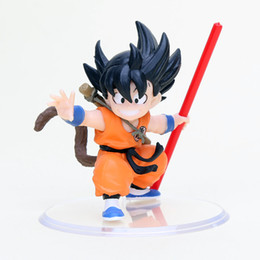 $enCountryForm.capitalKeyWord UK - monkey son goku brinquedos Dragon Ball Z Figure cloud Super Saiyan Childhood Edition PVC Action Figures Doll Model Toys