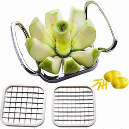 $enCountryForm.capitalKeyWord Australia - 5 in 1 Kitchen Gadgets Stainless Steel Vegetable Fruit Cutter Shredders Potato Chips Apple Pear French Fries Cutter Kitchen Accessories