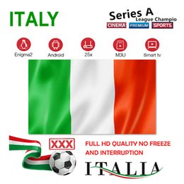android live tv box UK - IP Box TV Italy subscription live vod italia M3U USA Canada UK France Germany Spain for Smart tv android tv box mag box