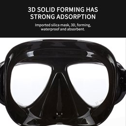 mask scuba equipment NZ - Hot Anti Mask Anti Fog Spray Diving Mask Scuba Silicone Diving Goggles Underwater Snorkel Goggles Swimming Equipment Face Masks