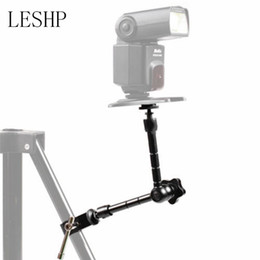 Wholesale Freeshipping inch Universal Adjustable Fixed Bracket Magic Arm Super clamp For Camcorder Photo Studio LCD Monitor Led Flash Light