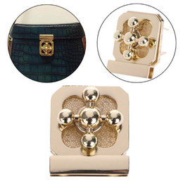 Metal Turnings Australia - High Quality Metal Clasp Turn Lock Twist Locks For DIY Handbag Craft Bag Purse Hardware Parts
