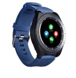 $enCountryForm.capitalKeyWord Australia - hot Circular screen Bluetooth Smart Watch Support SIM and TFcard Dial Call Z3 Fitness Tracker Camera For Android Phone Drop Shipping