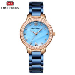 $enCountryForm.capitalKeyWord Australia - MINIFOCUS Brand Luxury Fashion Women Wrist Watch Ladies Dress Rhinestone Crystal Casual Quartz Watch Stainless Steel Female Clock