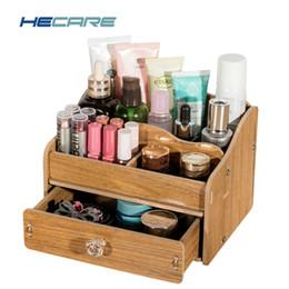 $enCountryForm.capitalKeyWord Australia - Make Up Organizer DIY Wooden Storage Box Jewelry Container Wood Divider Office Desk Organizer Desktop Storage Drawers Boxes