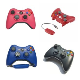 Wireless Pc Controllers Australia - 2019 New 2.4g wireless bluetooth game controller PC360 with receiver XBOX360 PC PS3 universal vibration mode DHL