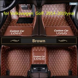 full golf sets NZ - for Volkswagen Golf 2014-2019year non-slip non-toxic foot pad car foot pad