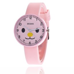 Discount fashion watch black cat girl - Lovely Cute Cat Watches Women Girls Wristwatch Jelly Color Silicone Bracelet Watch For Women Quartz-watch Cartoon