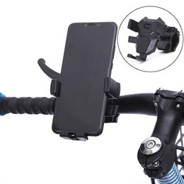 Wholesale Bicycle Phone Holder Aluminium Alloy bracket Stand Mountain Bike Mobile Phone Holder Bicycle Navigation Cellphone xs