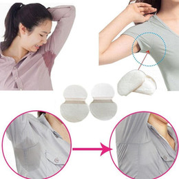 underarm sweat shields Australia - 2019 HOT Disposable Absorbing Underarm Sweat Guard Pads Deodorant Armpit Sheet Dress Clothing Shield Sweat Perspiration Pads