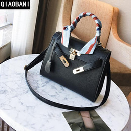 Factory direct selling brand women bag classic style lychee grain women  handbag European and American Leather platinum package shoulder bag c5a1aeb67233c