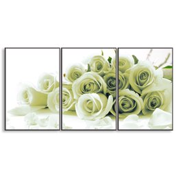 Art Canvas Prints Australia - 3 pieces high-definition print Rose canvas painting poster and wall art living room picture PF3-029