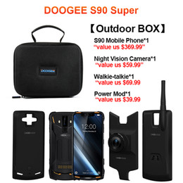 Wholesale IP68 / IP69K DOOGEE S90 Modularer robuster Handy 6,18 Zoll Display 5050 mAh Helio P60 Octa Core 6 GB 128 GB Android 8.1 16,0 M Cam