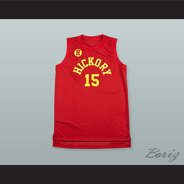 Wholesale new jersey schools online – design new Jimmy Chitwood Hickory Hoosiers High School Basketball Jersey custom Any Name Any Number