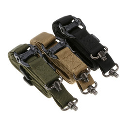 $enCountryForm.capitalKeyWord Australia - 2019 Hunting Belt Tactical Elastic Gear Gun Sling Strap Outdoor Camping Survival Sling Multifunctional Strap