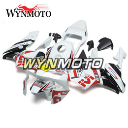 Motorcycle Fairing Kits Abs Plastic Australia - White Red Black Yellow Strips Motorcycle Fairings For Honda CBR600RR 2003 2004 F5 03 04 ABS Plastic Injection motorbike Kits cowlings covers
