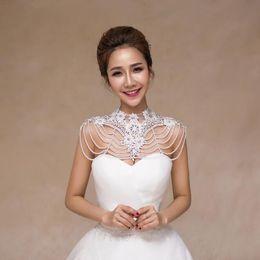 $enCountryForm.capitalKeyWord Australia - TJ066 New Luxury Bridal Jewelry Set Shoulder Necklace for wedding evening party dress