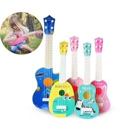 Toy String Instruments Australia - Funny Ukulele Musical Instrument Kids Guitar Montessori Toys for Children School Play Game Education Christmas Birthday Gift