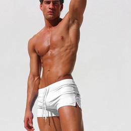 e0c568fdf1a Hot Men Summer Swimwear 2018 New Beach Shorts Swimsuit Briefs Boy Swim  Trunks Swim Suits Boxer Swimming Surf Trunks Size XXL