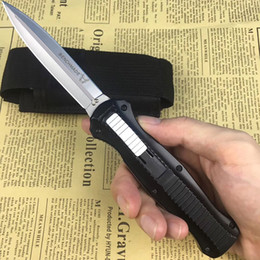 Vente en gros Livraison gratuite! Couteau Benchmade Double Action AUTO (3,95