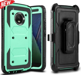 Wholesale moto z3 for sale - Group buy Rotate Degrees Clip Belt Armor Hard Case For MOTO G7 POWER G5S PLUS Z2 PLAY Z3 Z4 X4 Stand Shockproof Defender Hybrid Skin Cover