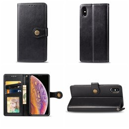 Wholesale samung notes resale online - Leather Wallet Case For Samung S10 S10e Note A10 A20 A40 A50 A70 Huawei P30 Pro Vintage Old Retro Flip Cover Card ID Slot Holder Pouch