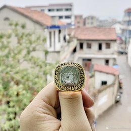 Pittsburgh Rings NZ - wholesale Drop Shipping 1960 Pittsburgh Pirates World Serie s Championship Ring high-quality holiday souvenir gifts