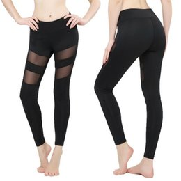 $enCountryForm.capitalKeyWord Australia - Womens Leggings Autumn Spring Fitness Plus Size Sports Yoga Pants Sexy Hollow Leggings Tight Trousers Mesh Size S-3XL