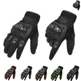 $enCountryForm.capitalKeyWord Australia - For Real Genuine Leather Motorcycle Gloves GP PRO Riding Motobike Racing Cycling Luvas Moto Guantes Carbon Fiber Racing Cross bike