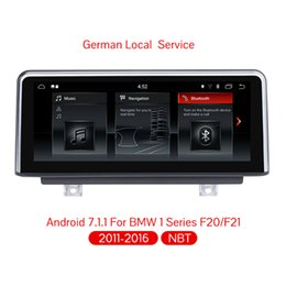 Multimedia Player NZ - 10.25 inch Android 7.1 Car Navigation Player Auto Multimedia Car Audio for BMW F20 F21 F23 Cabrio With NBT System
