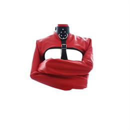body restraint bdsm gear NZ - PU Leather Sexy S&M Erotic Toys Fetish Wear Adult Sex Game Slave Bondage Restraint Gear BDSM S&M Body Harness Sex Toys