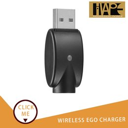 Best Price Ego Batteries Australia - Portabl Wireless Ego Charger USB Charger Adapter Battery Charger Black Cable Line For All Ego 510 E- Cigarette Factory supply best price