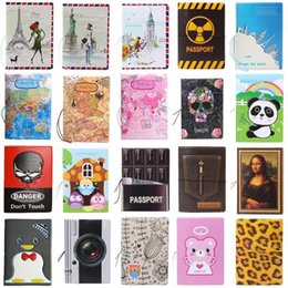 $enCountryForm.capitalKeyWord Australia - Hot-selling Pu&pvc Passport Cover ,business Card -id Holders For Travel ,free Shipping With 22 Kinds Of Pattern For Choose