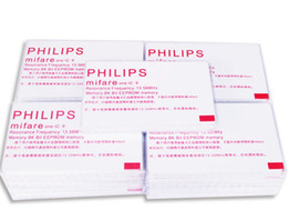 $enCountryForm.capitalKeyWord Australia - 400Pcs lot 13.56mhz Blank RFID Passive Mi-fare classic 1K card   MF1 S50   original IC M1 white   N XP S50 Card DHL