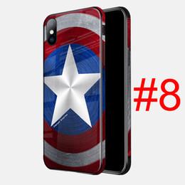 Chinese  Avenger Phone Case Superm Batman Iron Man Deadpool Spider Man Joker Avenger Soft Phone Case for iPhone 7 7Plus 6 DHL Free manufacturers