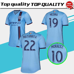 523ea024e FREE Ship 2019 2020 New York City Soccer Jerseys FC 19 20 DAVID VILLA  LAMPARD MORALEZ MATARRITA PIRLO Home Away Football Jersey Shirt