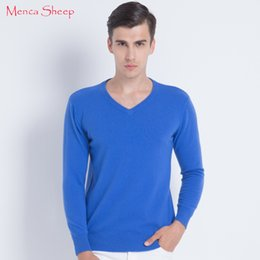 man sweaters for sale Australia - New Arrival Man Sweaters 100% Cashmere and Wool Knitwear Hot Sale Vneck Pullovers for Male Clothes High Soft and Quality Jumpers