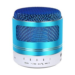 $enCountryForm.capitalKeyWord Australia - Mini Wireless Bluetooth Speakers Mic Stereo Sound FM Radio Support TF Card Loudspeaker LED Metal Surface Portable Rechargeable Music Player