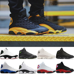 Table Cat Box Australia - Basketball Shoes 13 13s Men He Got Game Melo Class of 2002 Black Cat Bred Chicago Phantom Cheap Mens Sports Sneakers Size 41-47