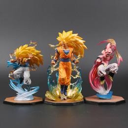 Super Buu Figure Australia - Majin Buu Goku Gotenks Pvc Action Figures Tamashii Nations S.h. Figuarts Zero Super Saiyan Collection Model Dragon Ball Z Toy J190507