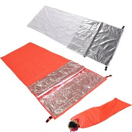Wholesale Portable Camping Hiking Sleeping Bags Adults Warm Coating Envelope Type moisture proof Mats Waterproof Breathable Sleeping Bags