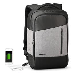 $enCountryForm.capitalKeyWord NZ - USB Charging Laptop Backpack 15.6 inch Anti Theft Women Men School Bags For Teenage Girls College Travel Backpack