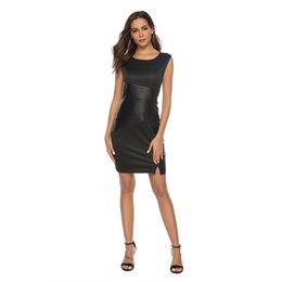$enCountryForm.capitalKeyWord UK - Newest Style Skinny Fit Fashion Women's Bodycon Pencil Party Cocktail Prom Office Lady Plus Size Dress