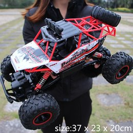 buggy rc car nitro UK - Big size 1:12 4WD RC Cars Updated Version 2.4G Radio Control Buggy High speed Off-Road Trucks Toys for Children Y200414