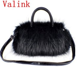 ladies fur handbags Australia - Hot Women Handbag Faux Fur Female Small Messenger Bags for Women Bags Crossbody Ladies Shouldler Bag